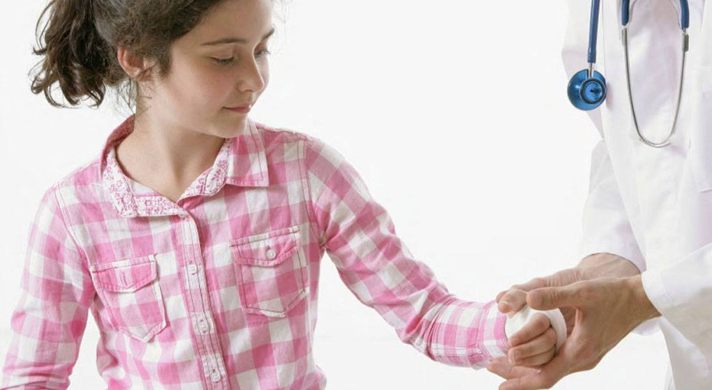 Child's Finger Severed at School