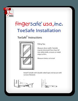 ToeSafe Installation Instructions