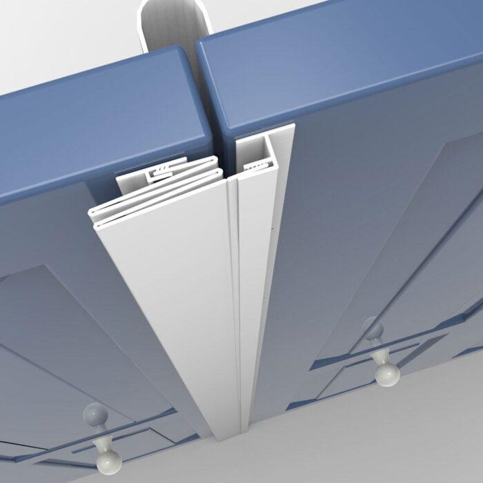 MK1-C for Bi-Fold or Flush Fit Doors Installation 1
